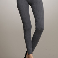 Sweater Knit Leggings   Overstock Boutiques
