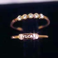 Bvlgari Stylish Women Chic Diamond Rings Accessories Jewelry