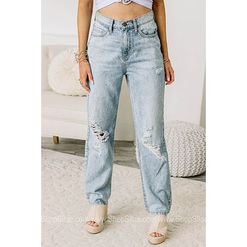 Let's Take It Back 90's High Rise Relaxed Fit Jeans