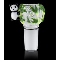 Empire Glass Panda Bowl