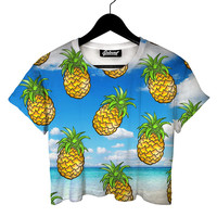 Tropical Fever Crop Tee