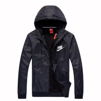Trendsetter NIKE Hooded Zipper Cardigan Sweatshirt Jacket Coat Windbreaker Sportswear Tagre™