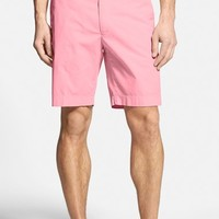 Bobby Jones Stretch Cotton Flat Front Shorts,