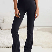 Aerie Play Boot Pant, True Black