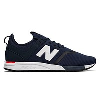New Balance 247 Classics Blue White RevLite MRL247DH Mens Sneakers