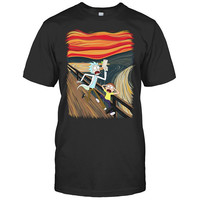 Rick And Morty - hungry for apples? - Men Short Sleeve T Shirt - SSID2016