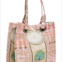 Starlet Tapestry Print Peacock Luxe Tote