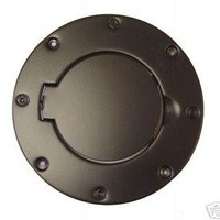 Rugged Ridge 11229.01 Black Powder-Coated Gas Door Cover