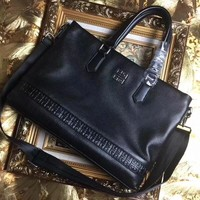GIVENCHY MEN'S HOT STYLE LEATHER BRIEFCASE BAG CROSS BODY BAG