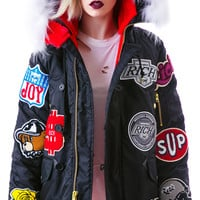 Joyrich Road Journey Parka Black