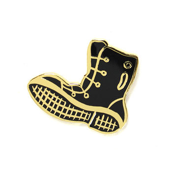 Give 'Em The Boot Pin