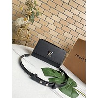 LV Louis Vuitton Tote Bags Women's  Handbag Shopping Leather Crossbody Satchel 23.5*16*5.5CM