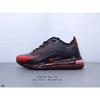 NIKE AIR MAX 720 2019 new breathable flying woven mesh shoes casual sports shoes