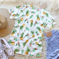 Pineapples Please Tee