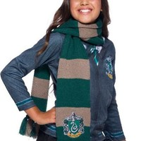 Harry Potter Deluxe Scarf, Slytherin Hogwarts House