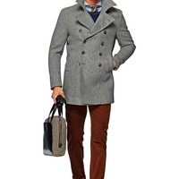 Grey Peacoat J289i | Suitsupply Online Store