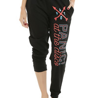 Panic! At The Disco Arrows Logo Jogger Pants