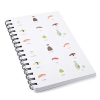 Sushi Hardcover Notebook