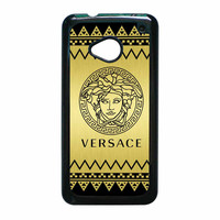 Versace Chevron Gold Edition HTC One M7 Case