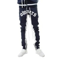 Own The Team Double Stripe Track Pant Navy