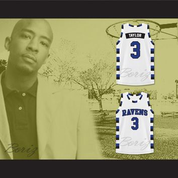 Antwon Skills Taylor 3 One Tree Hill Ravens Basketball Jersey All Sewn