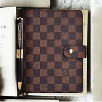 LV Louis Vuitton Fashion Boys and Girls Chic Portable Notebook-1