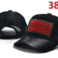 Gucci Floral Embroidered Hat Baseball Cap Hat 3828