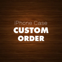 Custom Wood iPhone 5 Case for Adriana