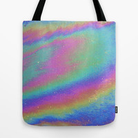 Holographic Tote Bag by Nestor2