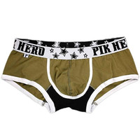Brand Mens Panties Sexy Comfortable Cotton Panties For Men Briefs Male Roupa Masculina,Roupa Interior SM6
