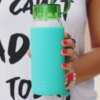 Kate Spade New York Water Bottle - Colorblock Turquoise
