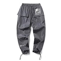 Nike Newest Men Women Comfortable Sport Pants Trousers Sweatpants Grey