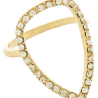 Teardrop Ring (Gold)