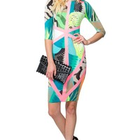 Tropic Pop Midi Dress