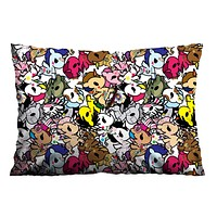 TOKIDOKI UNICORN COLLAGE Pillow Case Cover Recta
