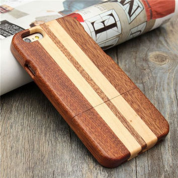 """Wave Rider Men's Wood iPhone 6 4.7"""" Cover Hand Shaped"""