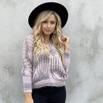 Caring Kisses Knit Sweater