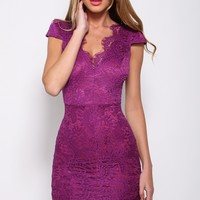 Sultry Dress Plum