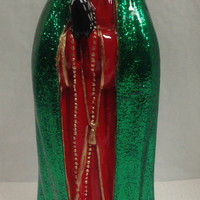 Day Of The Dead Hand Painted Mary Statue OOAK