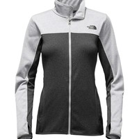 The North Face Amazie Mays Full Zip Jacket for Women in TNF Grey Heather NF0A2THS-MPU