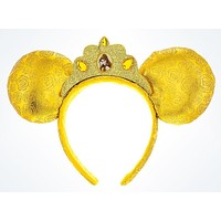 disney parks beauty and the beast princess belle ears headband new with tags