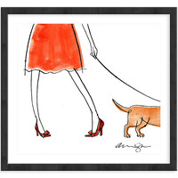 Alanna Cavanagh, Red Bow Shoes, Drawings