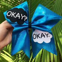 Cheer Bow- The Fault in our Stars