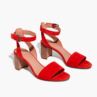 The Claudia Sandal in Suede