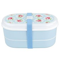 Cath Kidston - Provence Rose Bento Box with Chopsticks & Cutlery