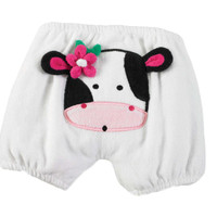Mud Pie-Cow Diaper Cover (Size 0-6 Mth)
