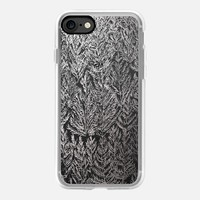 Snow pines(Silver) iPhone 7 Case by Kanika Mathur | Casetify