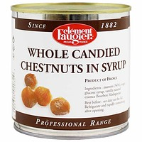 Whole Candied Chestnuts in Syrup by Clement Faugier, 19 oz. (540g)