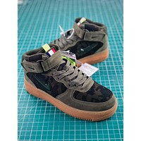 Nike Air Force 1 Jewel Mid Country Camo Fashion Shoes