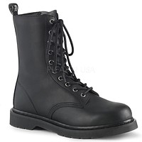 Bolt 200 Biker Ankle Boots Black Matte Men Sizes 4-14